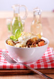 Pasta alla Bolognese Royalty Free Stock Photo