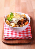 Pasta alla Bolognese Stock Images