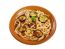 Pasta alla norma Royalty Free Stock Images