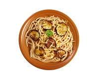 Pasta alla norma Stock Images