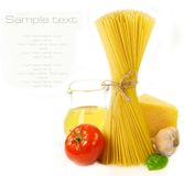 Pasta And Food Ingredients Stock Image