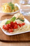 Pasta appetizer Royalty Free Stock Photography