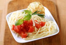 Pasta Appetizer Stock Photography