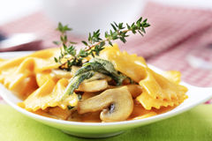 Pasta appetizer Royalty Free Stock Images