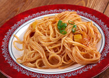Pasta asciutta Royalty Free Stock Images