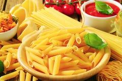 Pasta assortita Fotografia Stock Libera da Diritti