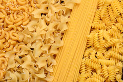 Pasta Assortment Royalty Free Stock Image