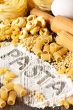 Pasta. Royalty Free Stock Photography