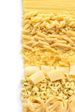 Pasta assortment. Italian food image Stock Photography