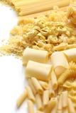 Pasta assortment. Italian food image Stock Photo