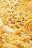 Pasta assortment Royalty Free Stock Photo