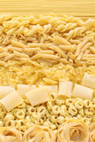 Pasta assortment Stock Photo