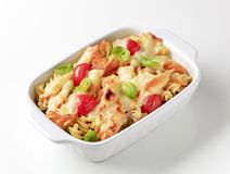 Pasta au gratin Royalty Free Stock Images