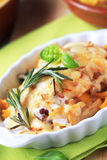 Pasta au gratin Stock Photo