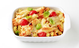 Pasta au gratin Royalty Free Stock Photography