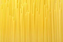 Pasta background. Italian long spaghetti texture background Stock Image
