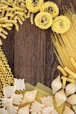 Pasta Background Border Royalty Free Stock Photo
