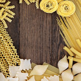 Pasta Background Border Stock Photography