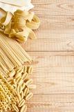 Pasta background Stock Photo