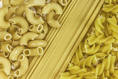 Pasta background. spaghetti, noodles set. Macaroni or pasta background. spaghetti, noodles set stock photo