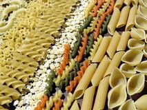Pasta background Royalty Free Stock Photography