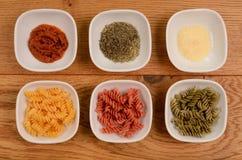 Pasta background Stock Photography