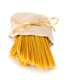 Pasta in a bag Royalty Free Stock Photo