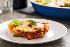 Pasta bake Royalty Free Stock Photos