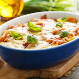 Pasta bake Royalty Free Stock Photography