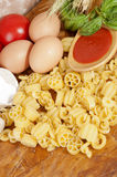 Pasta a basso contenuto proteico-pasta low protein Royalty Free Stock Photo