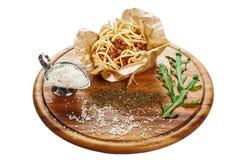 Pasta bolończyk Obraz Stock