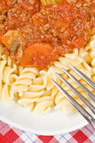 Pasta Bolognese Stock Photos