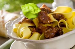 Pasta Bolognese Stock Images