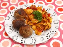 Pasta Bolognese Royalty Free Stock Photo
