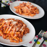 Homemade Pasta  bolognese Royalty Free Stock Photos