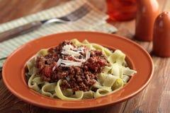 Pasta Bolognese Stock Photos