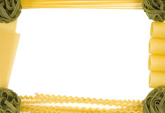 Pasta border 1 Royalty Free Stock Photo
