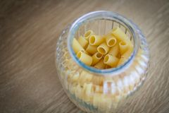 Pasta in bowl Stock Photos