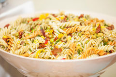 Pasta in a bowl Royalty Free Stock Images