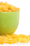 Pasta in bowl Royalty Free Stock Photography