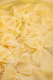 Pasta, bows Royalty Free Stock Images