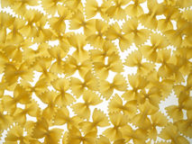 Pasta bows background Royalty Free Stock Photography