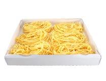 Pasta in a box Stock Photo