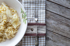 Pasta With Cabbage Stock Images