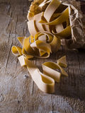 Pasta cake mix Royalty Free Stock Photography