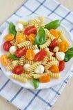 Pasta Caprese Stock Photos