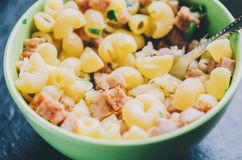 Pasta In Bowl Royalty Free Stock Image