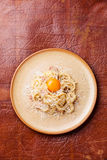 Pasta Carbonara Stock Photo