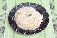 Pasta Carbonara Stock Photos