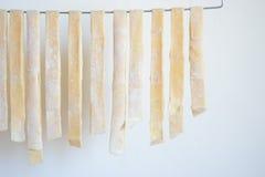 Pasta casalinga Fotografie Stock